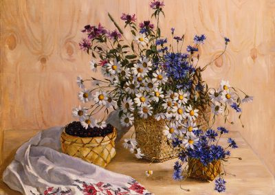 "Barchenkov ""Flowers and Drapery"" 1989"