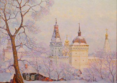 "Barchenkov ""Hoor Frost-Trinity Monastery in Sergiev"" 1990"
