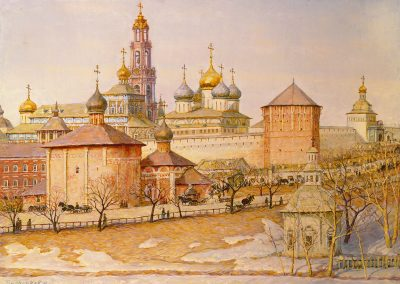 "Barchenkov ""Kremlin Landscape"" 1989"