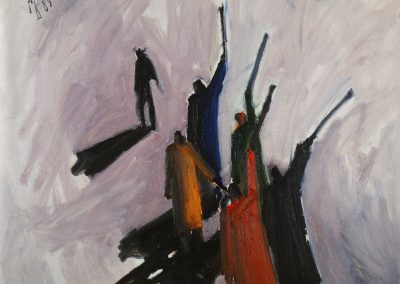 "Dembrovsky ""People in Bright Clothes"" 1989"