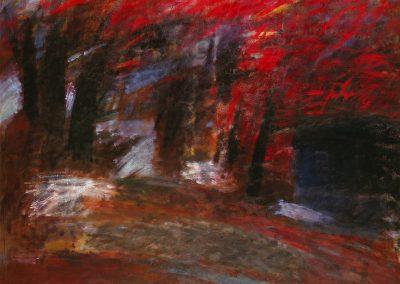 """Fedushkina """"Black House, Red Wood"""" 1988"""
