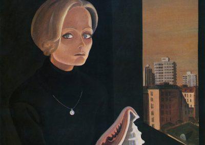 """Obrosov """"Girl with Shell"""" 1987"""