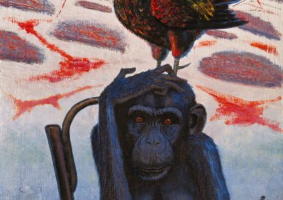 """Pimenov """"Blue Monkey"""" 1989"""