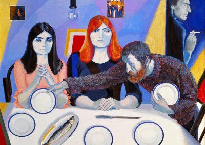 """Pimenov """"Guests"""" 1988"""