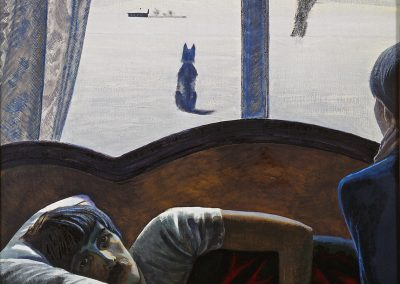 "Pimenov ""Pechtenkin's Portrait"" 1988"