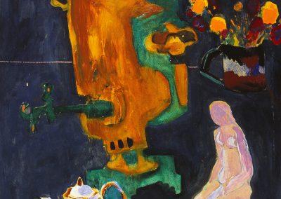 """Salnikov """"Still Life with Samovar"""" 1988"""