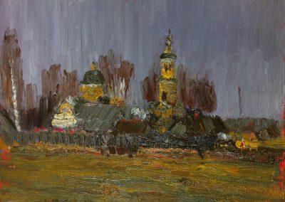 "Sorokin ""Monastery in the Rain"" 1983"