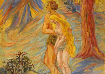 """Sveshnikova """"Expulsion from Paradise"""" 1965"""