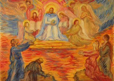 """Sveshnikova """"The Enthronement"""" 1962"""
