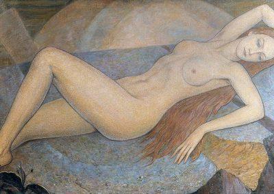 "Timchenko ""Nude in the Rocks"" 1976"