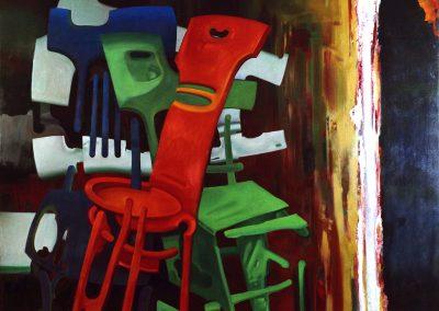 """Troshkov """"Chairs"""" 1990"""