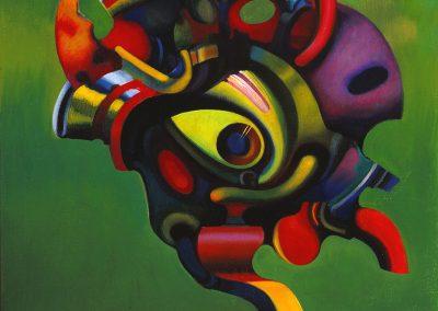"""Troshkov """"Portrait of a Bird"""" 1990"""