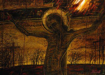 """Vol'f """"Crucifixion"""" 1989"""