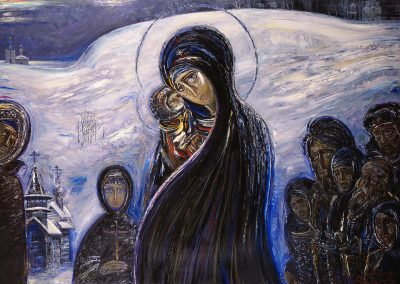 "Vol'f ""Madonna in the Snow"" 1988"